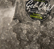 Avry Gel-Ohh! Jelly Spa 2-Step Soak & Scrub Pedi Bath - Charcoal
