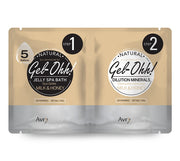 Avry Gel-Ohh! Jelly Spa 2-Step Soak & Scrub Pedi Bath - Milk & Honey