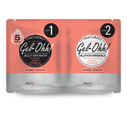 Avry Gel-Ohh! Jelly Spa 2-Step Soak & Scrub Pedi Bath - Sweet Citrus