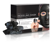Voesh Facial Modeling Mask - Activated Charcoal - 10 Sets