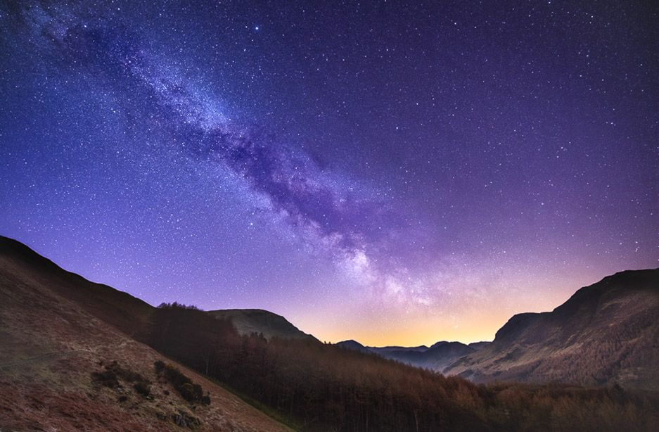 Milky Way across Buttermere Ref-SC2418