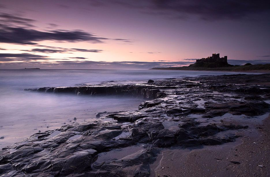Bamburgh Castle rocks Ref-SC2020