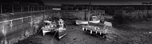 Burnmouth Harbour boats Ref-PBW293