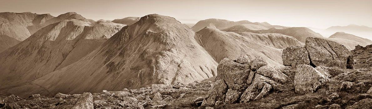Great Gable from Great End 2 Ref-PS1036