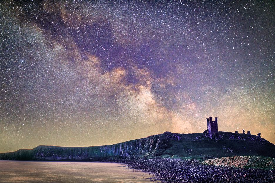 Dunstanburgh Castle Milky Way 6 Ref-SC2436