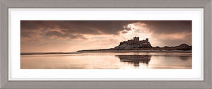 Bamburgh Castle clouds Ref-PC324