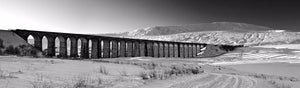 Ribblehead Viaduct snow Ref-PBW551
