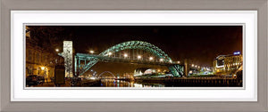 Tyne Bridge Night 2 Ref-PC310