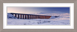 Ribblehead viaduct snow Ref-PC551