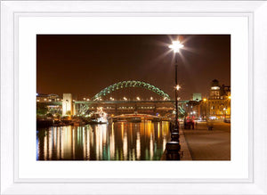 Tyne Bridge night Ref-SCTBN