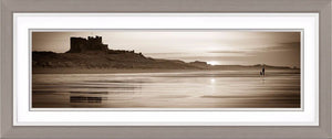 Bamburgh Castle sunset 4 Ref-PS2292