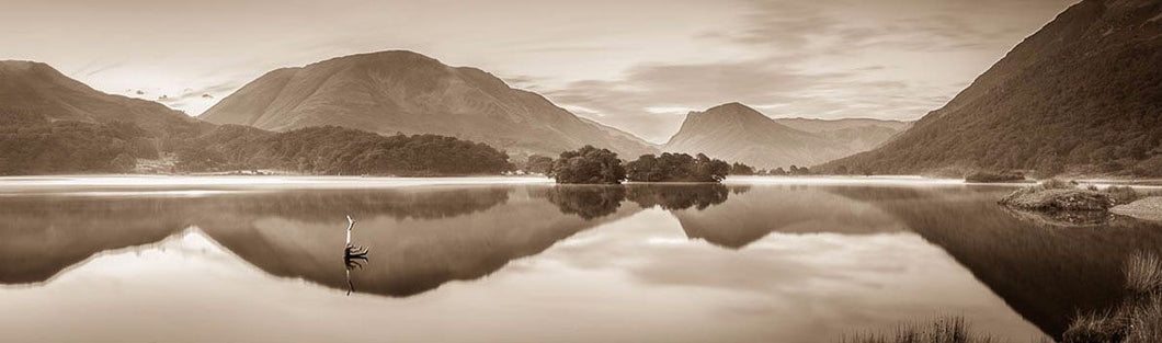 Crummock Water reflections Ref-PS2315