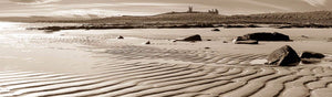 Dunstanburgh Castle sand Ref-PS41
