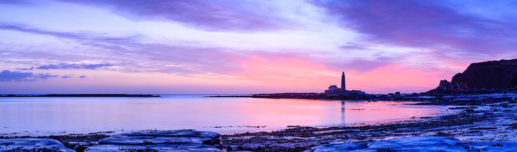 Saint Mary's Lighthouse dawn 3 Ref-PC2434