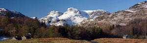Langdale Pikes from Elterwater 1  Ref-PC313