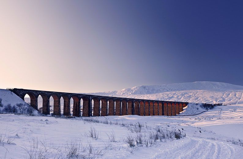 Ribblehead Viaduct snow Ref-SCRHVS