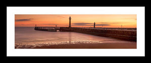 Whitby Piers dawn Ref-PC123