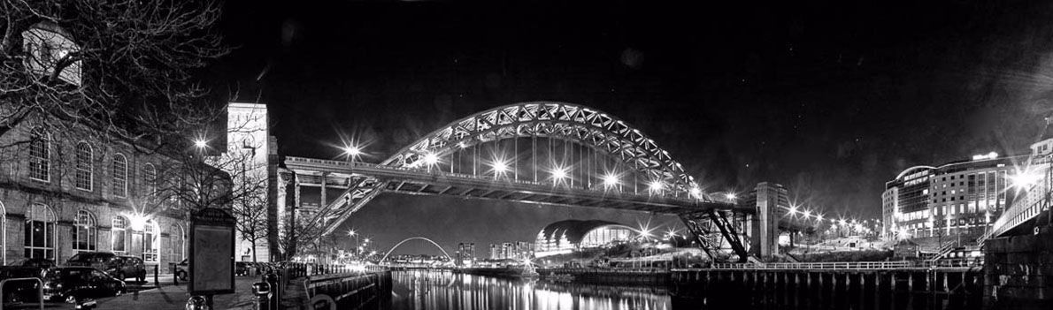 The Tyne Bridge night 2 Ref-PBW310