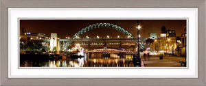 The Tyne Bridge Night Ref-PC143