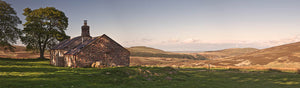 Broadstruther Cheviot Hills Northumberland panoramic photograph