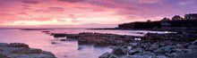 Browns Bay Cullercoats panoramic photograph