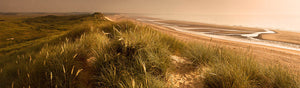 Druridge Bay Northumberland panoramic photograph