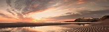 Seaton Sluice sunrise panoramic photograph