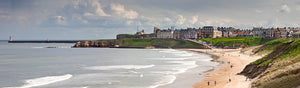 Tynemouth Longsands panoramic photograph
