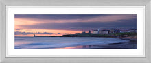 Tynemouth Longsands red dawn Ref-PC286