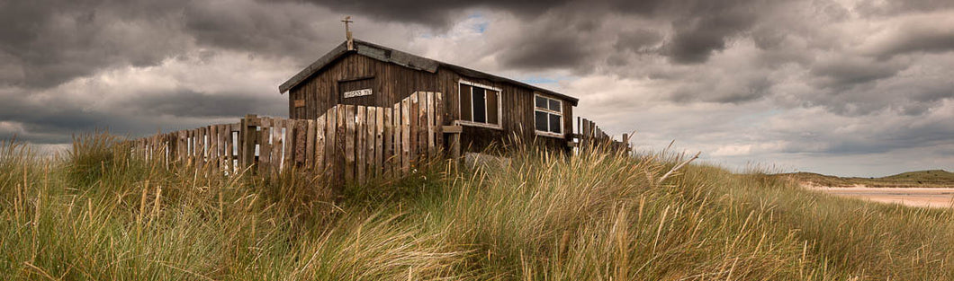 Wardens Hut Newton Links Northumberland panoramic photograph