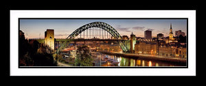 The Tyne bridge evening Ref-PC2246
