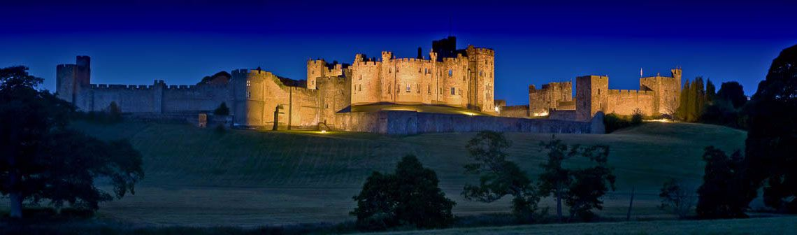 Alnwick Castle night Ref-PC249