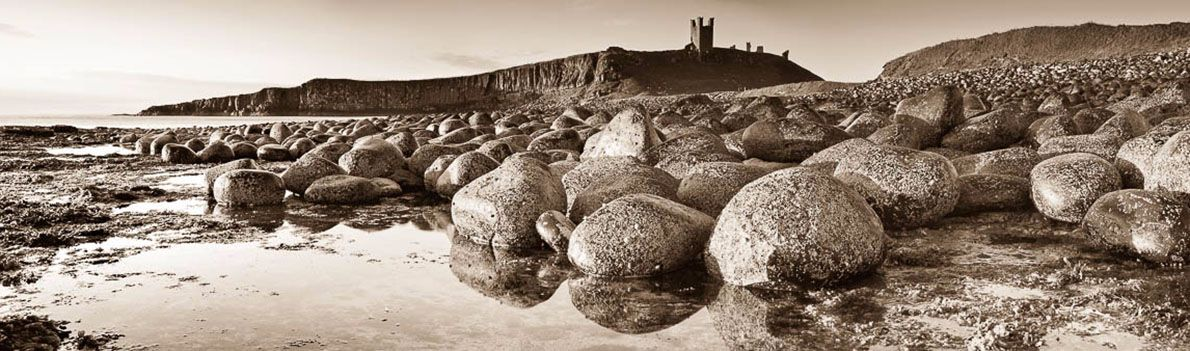 Dunstanburgh Castle stones Ref-PS236