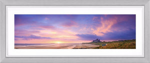 Bamburgh Castle sunrise 3 Ref-PC2336