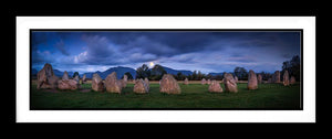 Moon over Castlerig Stone Circle Ref-PC2369