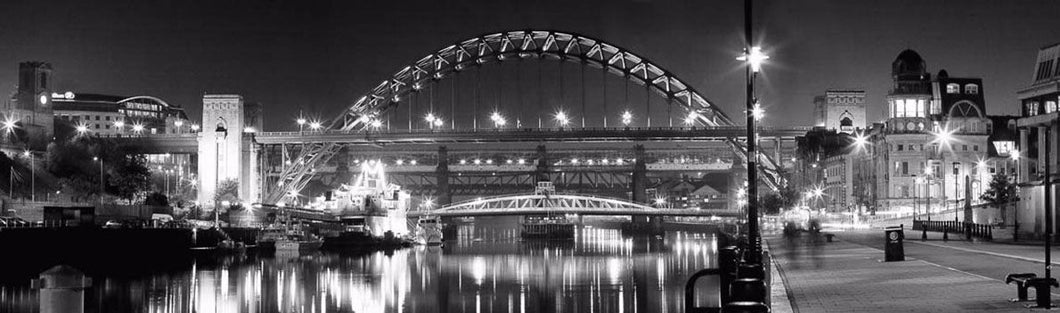 The Tyne Bridge night Ref-PBW143