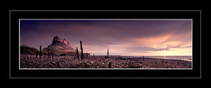 Lindisfarne Castle sunrise 1 Ref-PC335