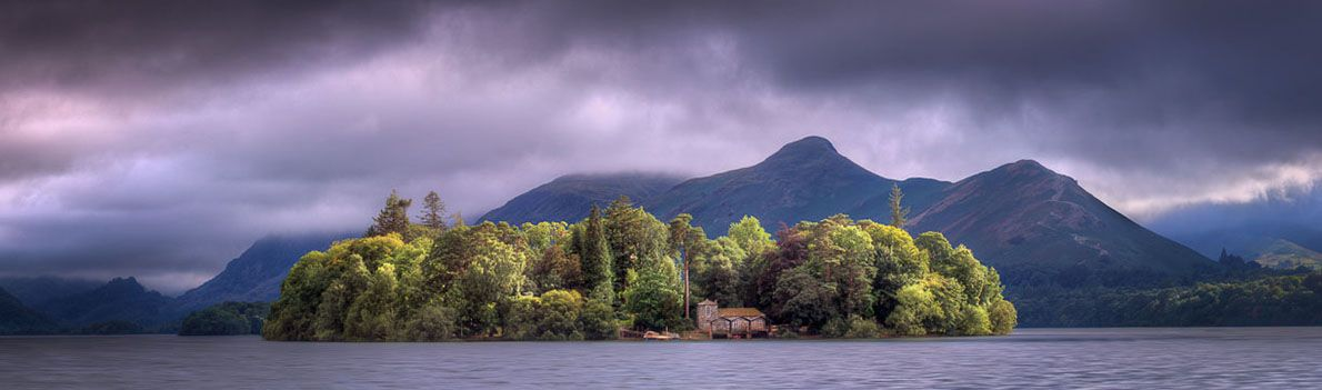 Rain clouds over Catbells Ref-PC2360