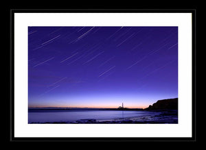 Saint Mary's star trails Ref-SCSMST