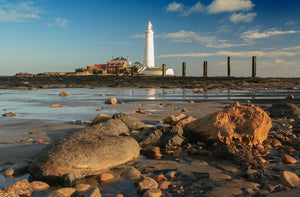 Saint Mary's lighthouse rocks Ref-SC2053