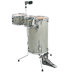 DXP 'Cocktail' Drum Kit - Silver Sparkle