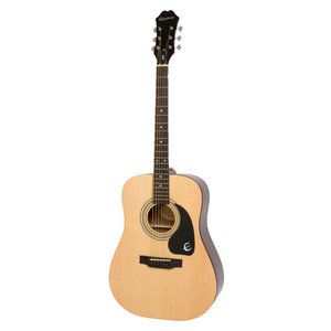 Epiphone Natural Acoustic Guitar