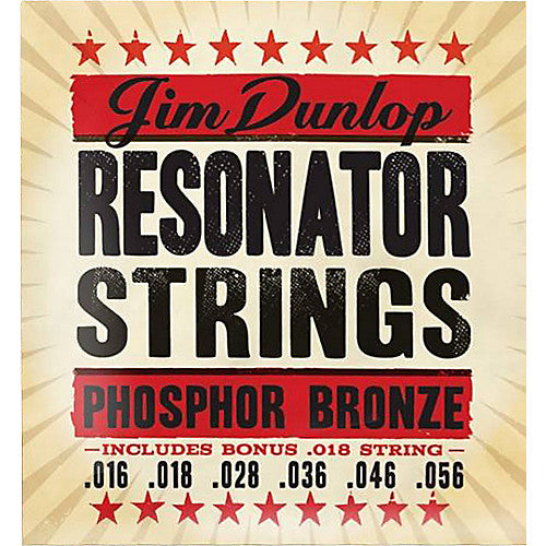 Jim Dunlop Resonator Strings