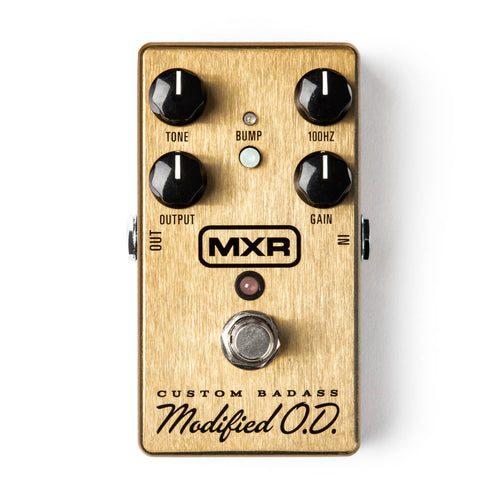 MXR Custom Badass Modified O.D Pedal