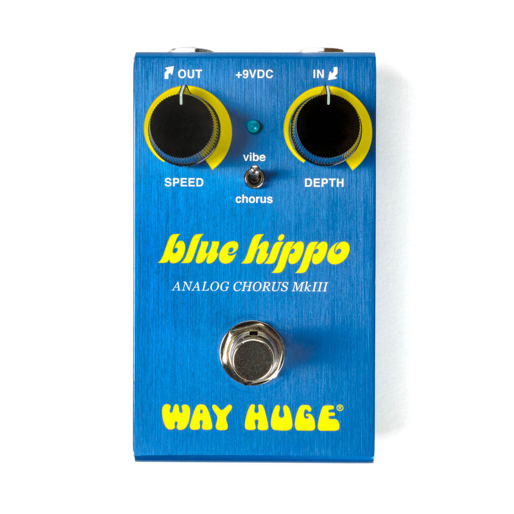 Way Huge Blue Hippo Analog Chorus Pedal