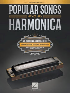 Popular Songs for Harmonica Book