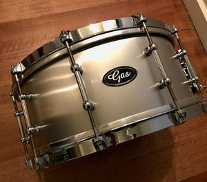 Gas Custom Cold Rolled Aluminium Snare Drum