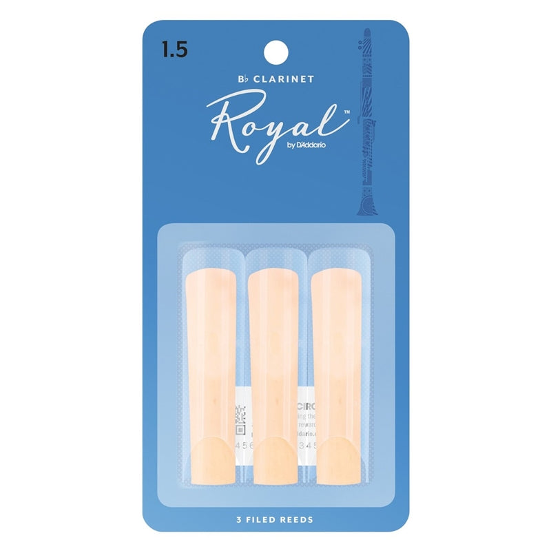Rico Royal Clarinet Reeds 3 Pack