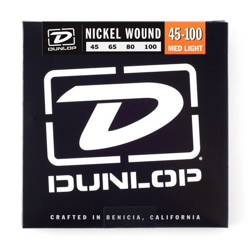 Dunlop 45-100 Bass Guitar Strings (4)