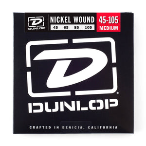 Dunlop 45-105 Bass Guitar Strings (4)